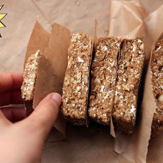 Coffee & Whey Protein Bars