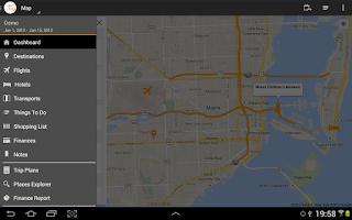 Screenshot of myTrip - Travel Organizer
