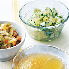 Cucumber and Lemon Salsa