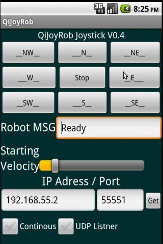 Robot Remote Control