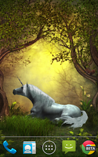Unicorns Live Wallpaper - screenshot