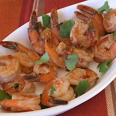 Pan- Seared Shrimp with Chipotle Glaze