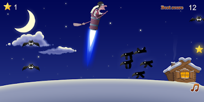 Screenshot of Jet flight of night witch