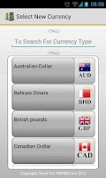 Screenshot of Currency Exchanger