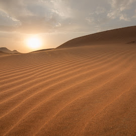 Sunset by Walid Ahmad - Landscapes Deserts ( desert, sunset, uae, nikon, photography )