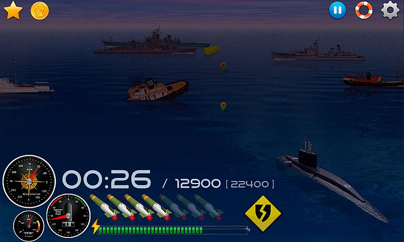 Silent Submarine Career Screenshot 2