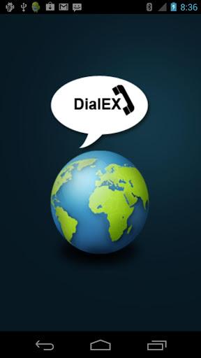 DialEX - free phone card dial