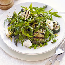 Asparagus & Courgette Salad With Feta & Sesame Seeds