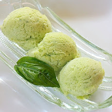 Pineapple Basil Sorbet