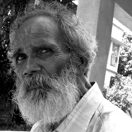IRRITATION by Raj Sarkar - People Portraits of Men