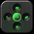 GO Locker Titanium Green Theme icon
