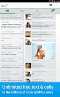 Screenshot of textPlus Gold Free Text+Calls