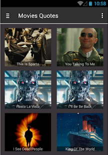 Movies Quotes Soundboard - screenshot