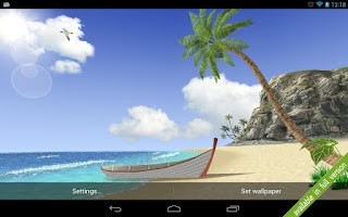 Screenshot of Lost Island 3d free