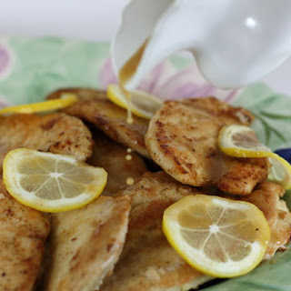 Lemon and White Wine Chicken