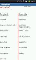 Screenshot of Vocabularybook