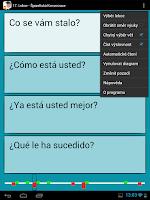 Screenshot of Španělština - Konverzace