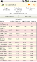 Screenshot of IRCTC PNR Rail & Train Enquiry