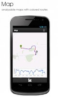 Screenshot of GPS Outdoor Tracker Log