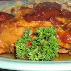 Simple 3 Step Slow Cooker Tangy Chicken With Heinz 57 Sauce