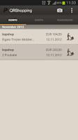 Screenshot of PayPal QRShopping