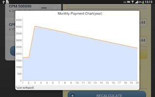 Screenshot of Mortgage Loan DADA