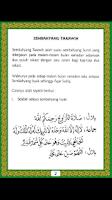 Screenshot of Panduan Solat Terawih