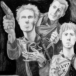 The Clash by Cecilia Sterling - Drawing All Drawing (  )