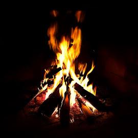 Fireplace by Žaklina Šupica - Novices Only Macro (  )
