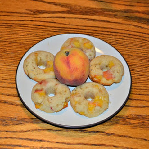 Peach Donuts with Brown Sugar #SundaySupper