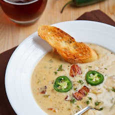 Ale and Cheddar Soup
