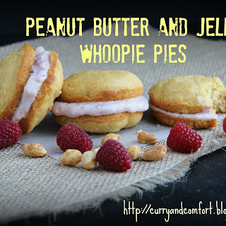 Peanut Butter and Jelly Whoopie Pies