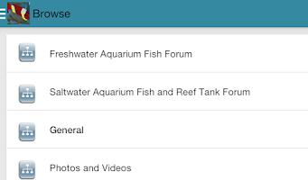 Screenshot of Fish Lore Aquarium Forum
