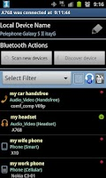 Screenshot of Bluetooth Manager