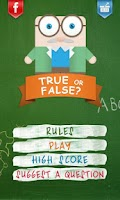 Screenshot of True or False Lite