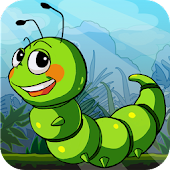 Download Crazy Larva Run APK on PC