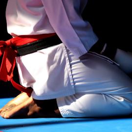 Karate 01 by Mari du Preez - Sports & Fitness Other Sports ( tatami, gi, black belt, martial arts, karate )