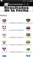 Screenshot of Futbol Ecuatoriano 2014