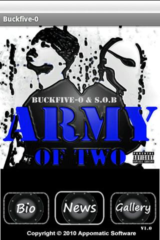 Buckfive-o - Army of Two e.p.