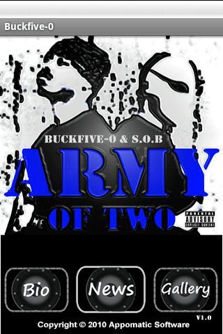【免費媒體與影片App】Buckfive-o - Army of Two e.p.-APP點子
