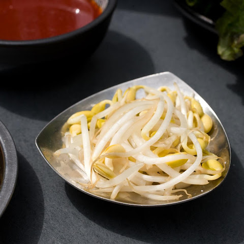 Korean Soybean Sprout Salad