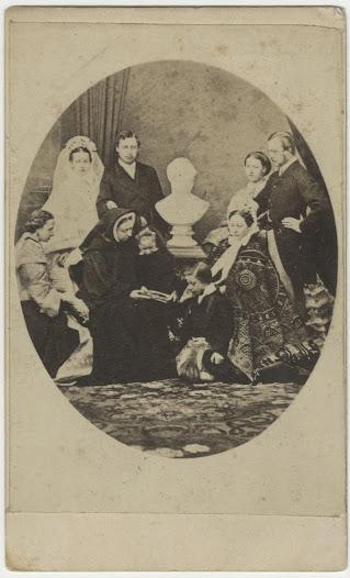 The Royal Family, ca. 1865