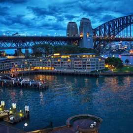 Sydney by Loredana  Smith - Landscapes Travel ( water, australia, harbour, bridge )