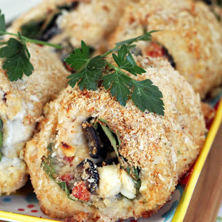 Spinach & Feta Chicken Roll-ups