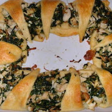 Chicken Spinach Crescent Sandwiches