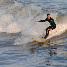 Surfer by Prentiss Findlay - Sports & Fitness Surfing ( surfing, surfer, waves, sea, ocean )