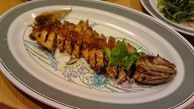 Stuffed fish with fish paste restoran village chicken for Jr fish and chicken