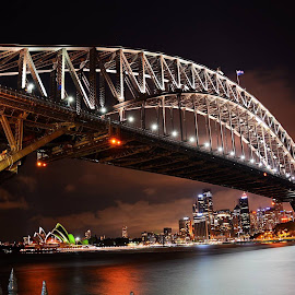 Sydney Harbour Bridge by Nikhat Jahan - Buildings & Architecture Bridges & Suspended Structures