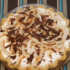 Coconut Cream Pie with Whipped Cream