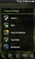 Screenshot of EZ Switch Widget